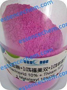 Imidacloprid-100-Thiram-100-Metalaxyl-100-DS-pesticide-mixture